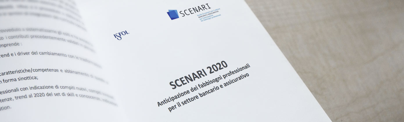 Scenario studies in the banking and insurance sector