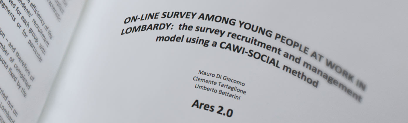 On-line survey among young people at work in Lombardy