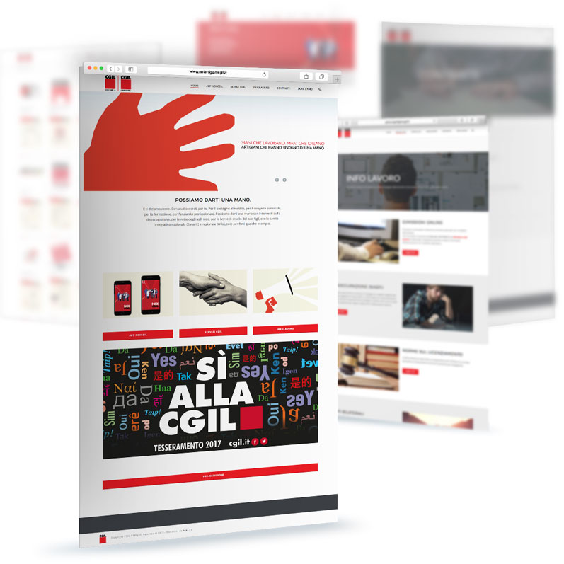 CGIL Monza-Brianza: Website