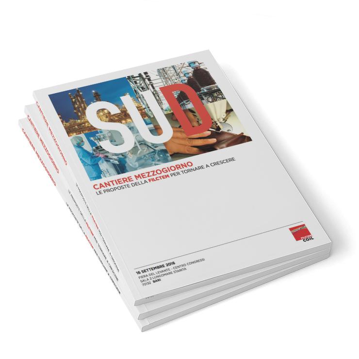 """book design """"Cantiere Mezzogiorno"""""""