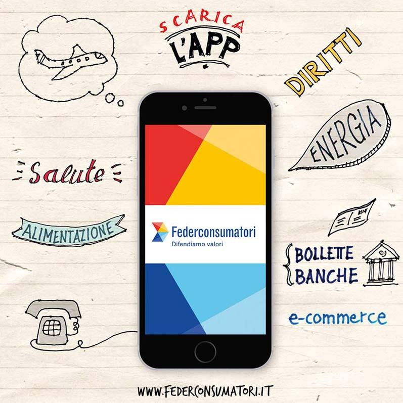 Federconsumatori: App mobile Campaign