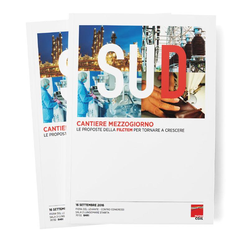 FILCTEM Nazionale: editorial publication cantiere mezzogiorno