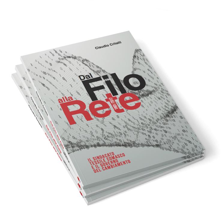 """book design """"Dal filo alla rete"""""""